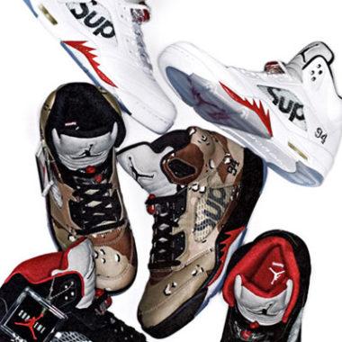 air jordan 5 supreme sneakers
