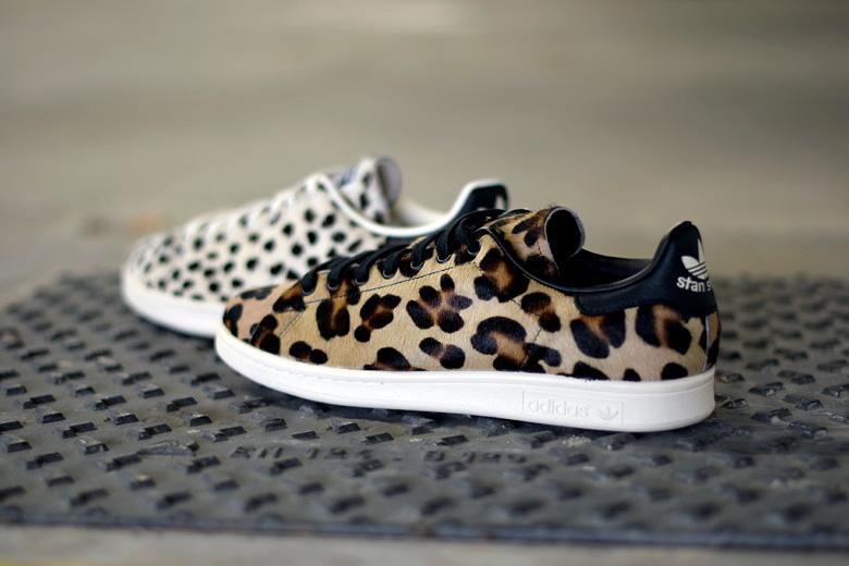 adidas originals stan smith animal print