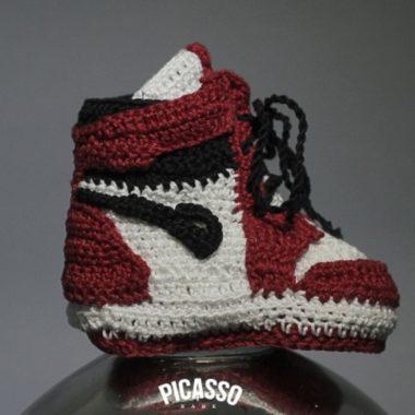 baby sneakers crochet