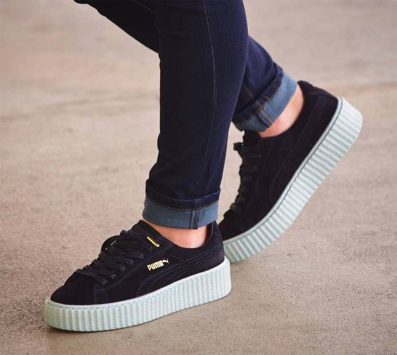 puma x rihanna creepers peacoat. Black Bedroom Furniture Sets. Home Design Ideas