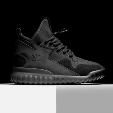 adidas tubular x triple black 3M