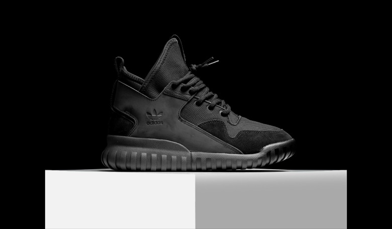 adidas tubular x triple black 3M