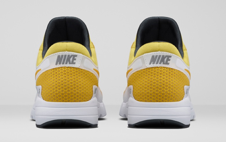 nike air max zero white yellow QS-2