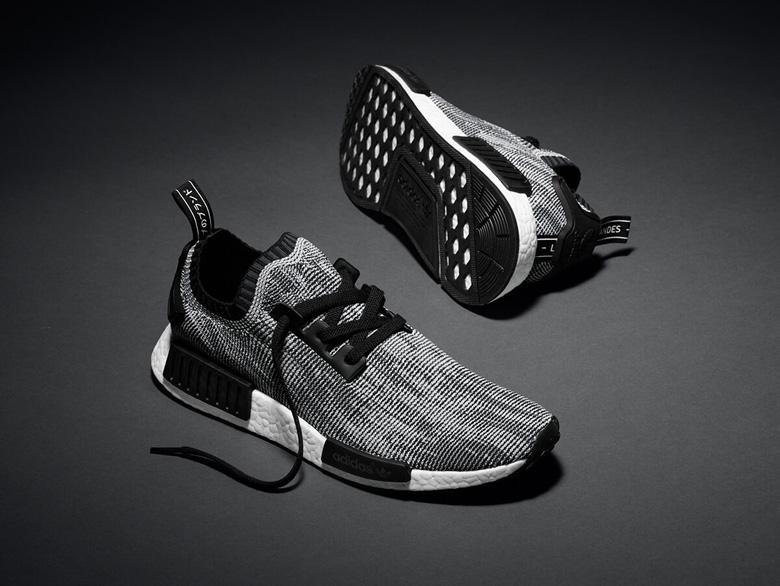 adidas nmd grise et noir
