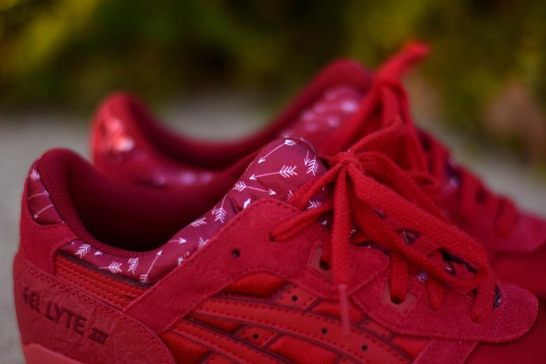 asics gel lyte femme rouge