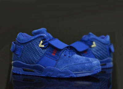 nike air trainer victor cruz blue