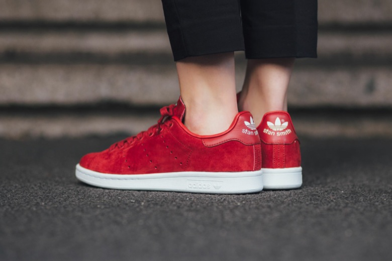 adidas stan smith red rita ora-2