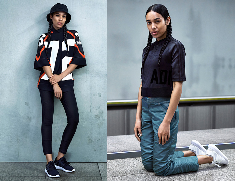 adidas TUBULAR RADIAL Black/Black/White Hype DC