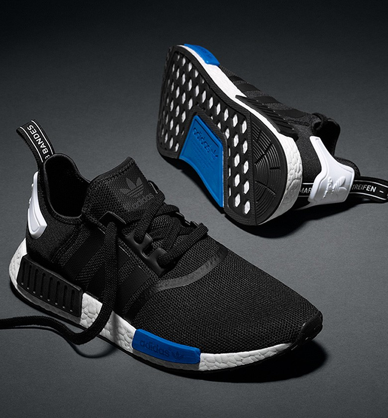 Adidas Nmd Black Blue Sneakers Amp Street Culture Depuis 2005