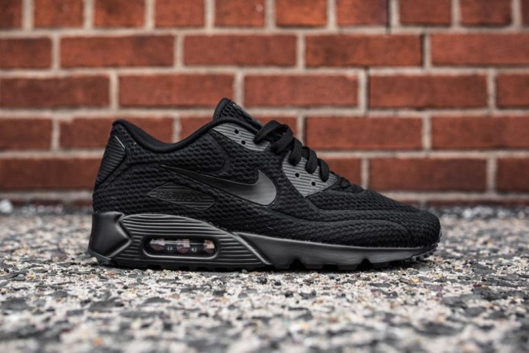 nike air max 90 ultra br triple black