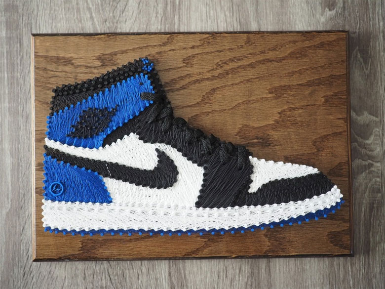 sneakers air jordan 1 fragment design