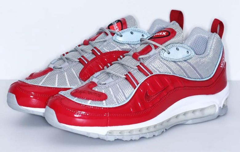 supreme nike air max 98 red-3