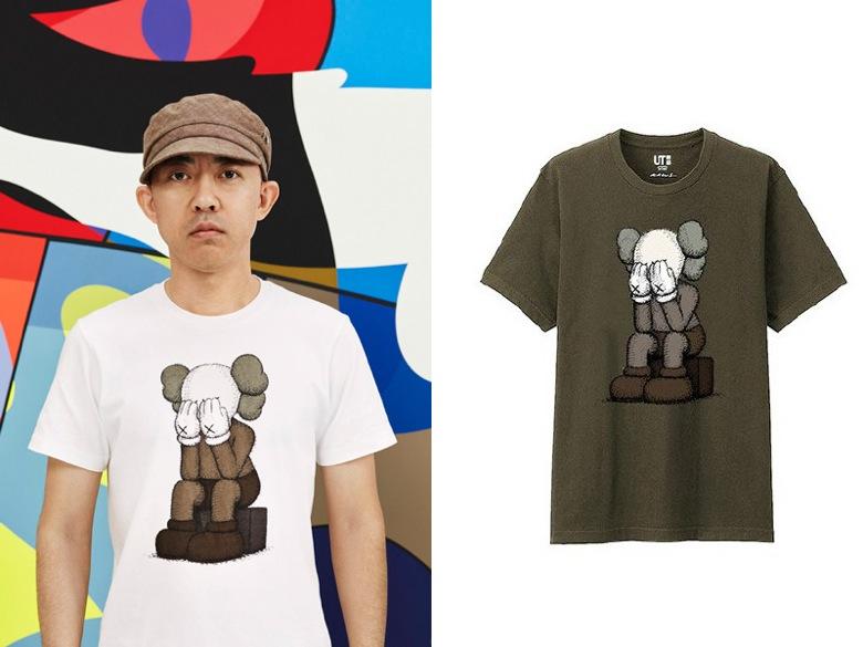 tee-shirts kaws uniqlo-1