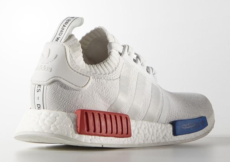 Adidas Nmd Blanc Bleu Rouge