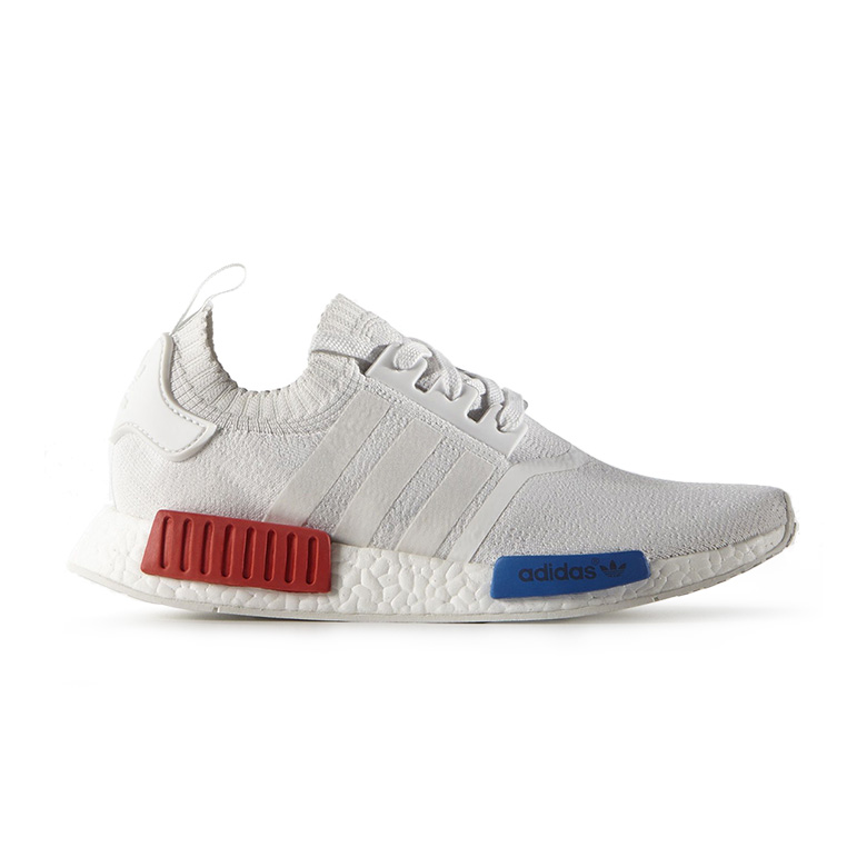 737b3d55e366 adidas NMD R1 PK White Red Blue - Sneakers.fr