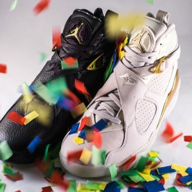 air jordan 8 confetti champ