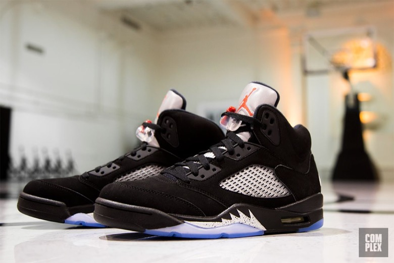 air jordan 5 metallic silver 2016-2