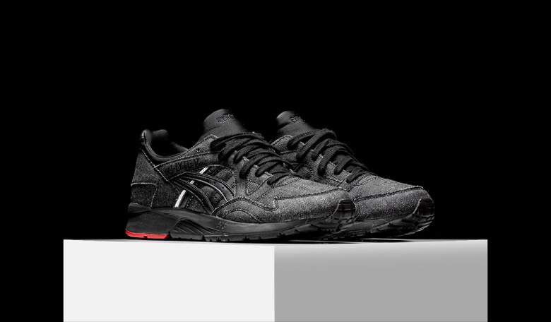 asics gel lyte 5 black denim selvedge-3