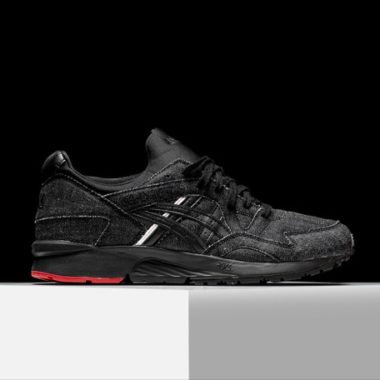 asics gel lyte 5 selvedge denim