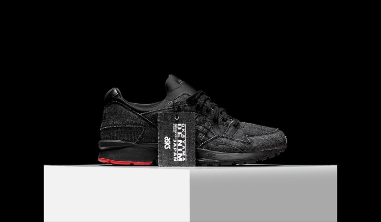 asics gel lyte 5 black denim selvedge-5