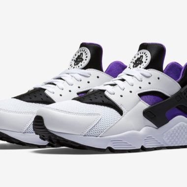 nike air huarache purple punch