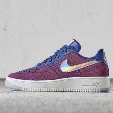 best loved 826ec 32b1c Nike Air Force 1 Ultra Flyknit Low USA - Sneakers.fr