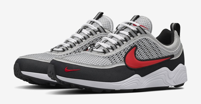 nike air zoom spiridon de retour sneakers. Black Bedroom Furniture Sets. Home Design Ideas