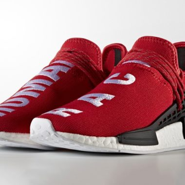 adidas nmd human race red