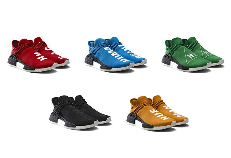 Adidas NMD Nouveau 2018 Course Humaine Pharrell Williams Hu
