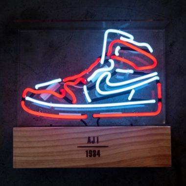 air jordan 1 neon
