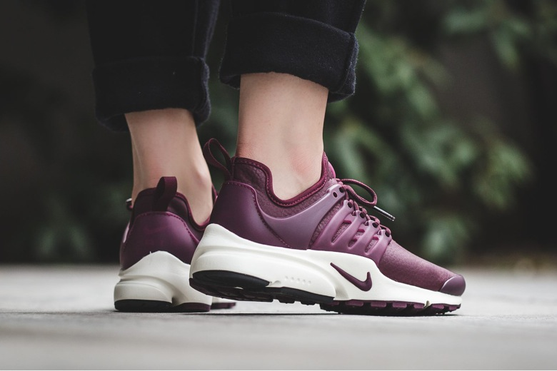 748fe99d6c8d Nike⁠+ SNKRS Une nouvelle version premium de la Nike Air Presto. Nike Air  Presto Premium Womens Sneaker in Night MaroonSailNight Maroon Shoes ...