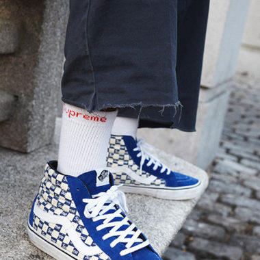 vans checkers supreme