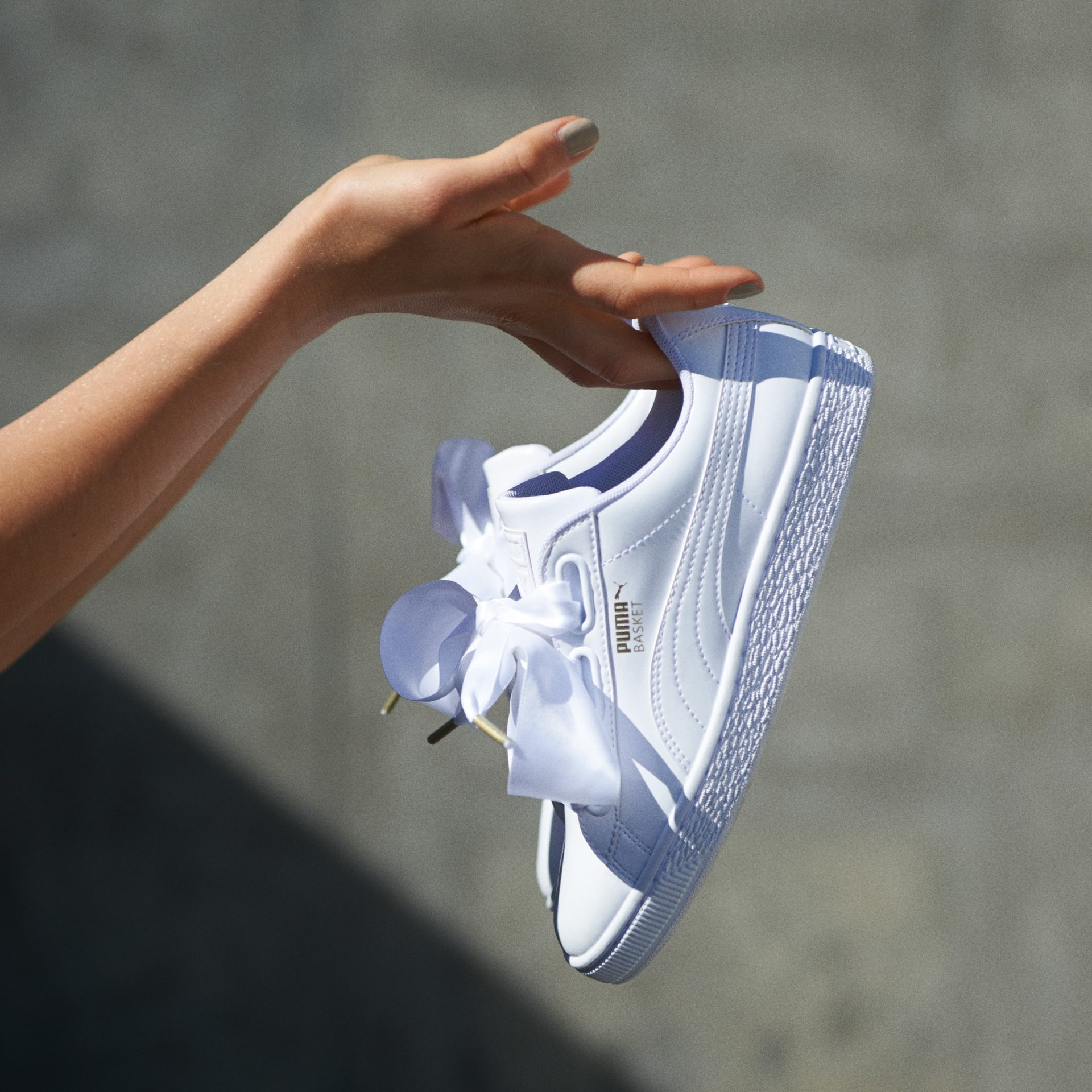 puma heart patent blanches