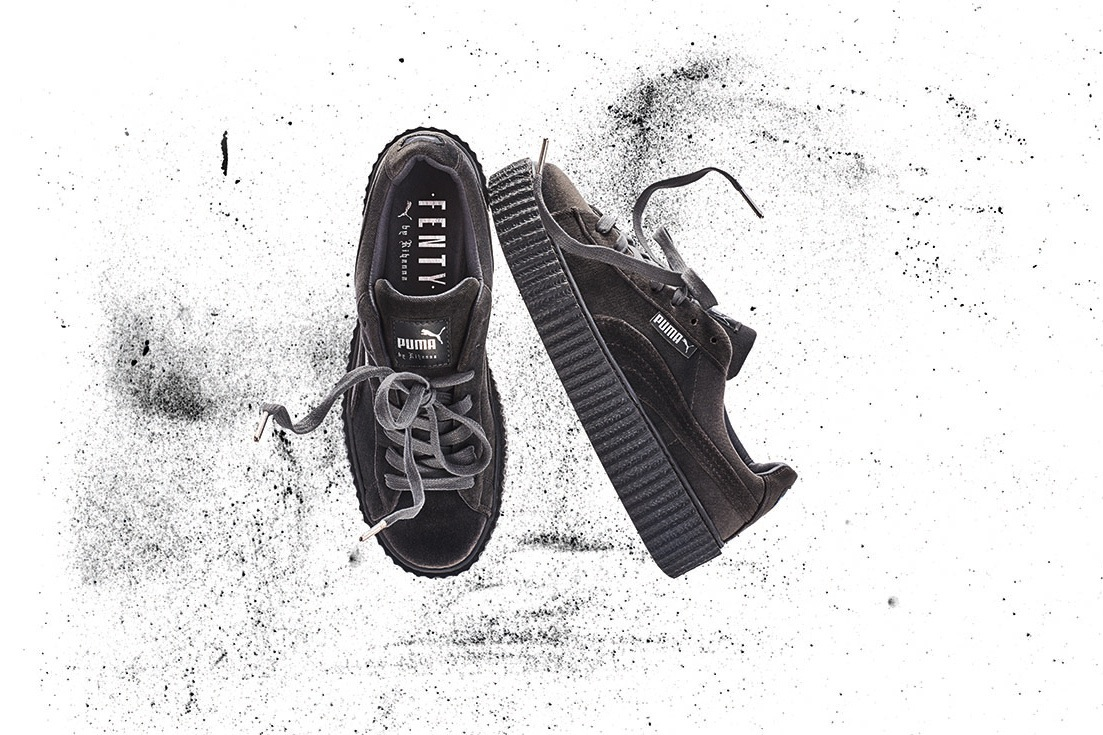 Puma Creepers Grise Velour