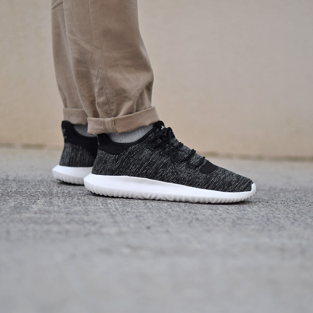 Adidas Tubular Shadow Knit Black