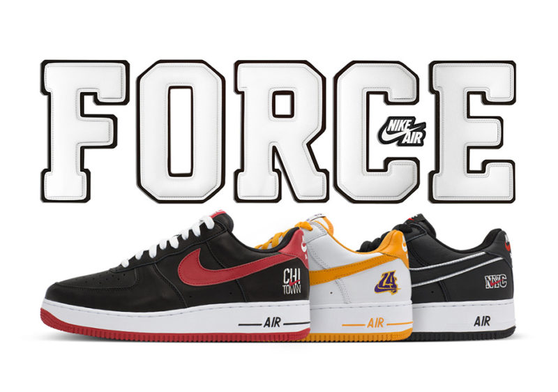 nike air force 1 city pack