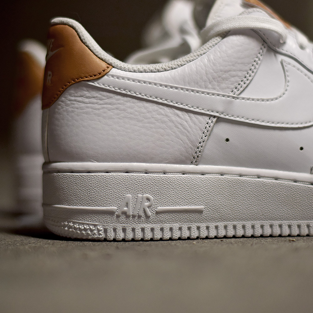 Nike Air Force 1 Low 07 LV8 'Patch' White Vachetta Tan
