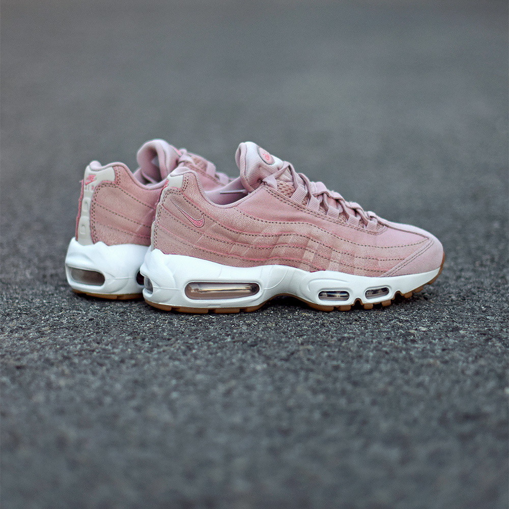 nike w air max 95 pink oxford midnight fog. Black Bedroom Furniture Sets. Home Design Ideas