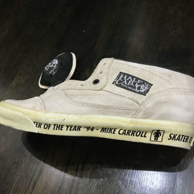 vans half cab mike carroll
