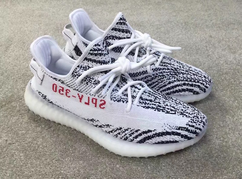 adidas yeezy boost 350V2 zebra