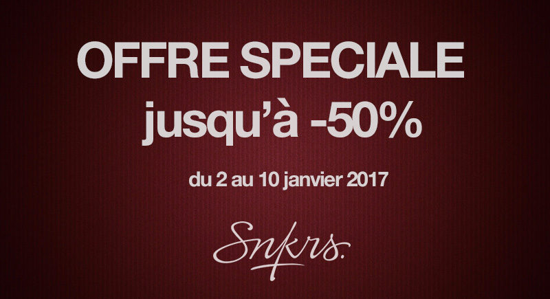 offre speciale sneakers