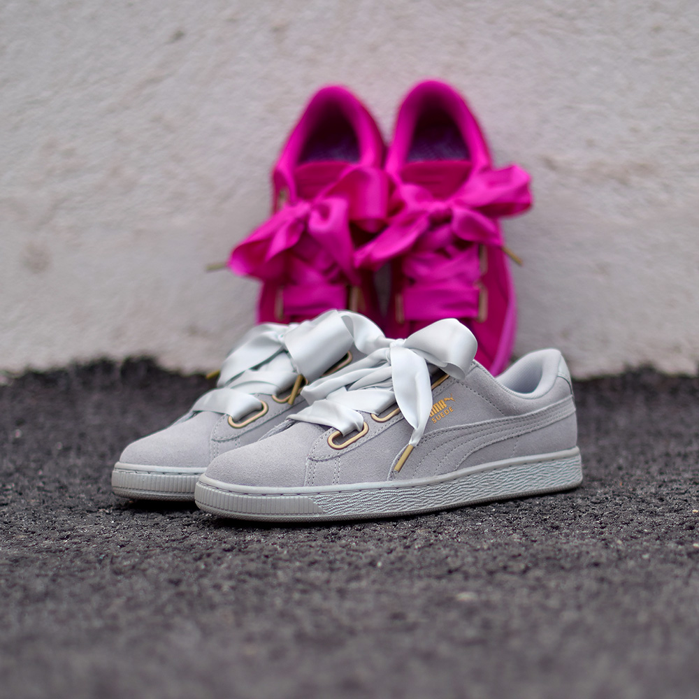 Puma Suede Heart Satin Printemps 2017