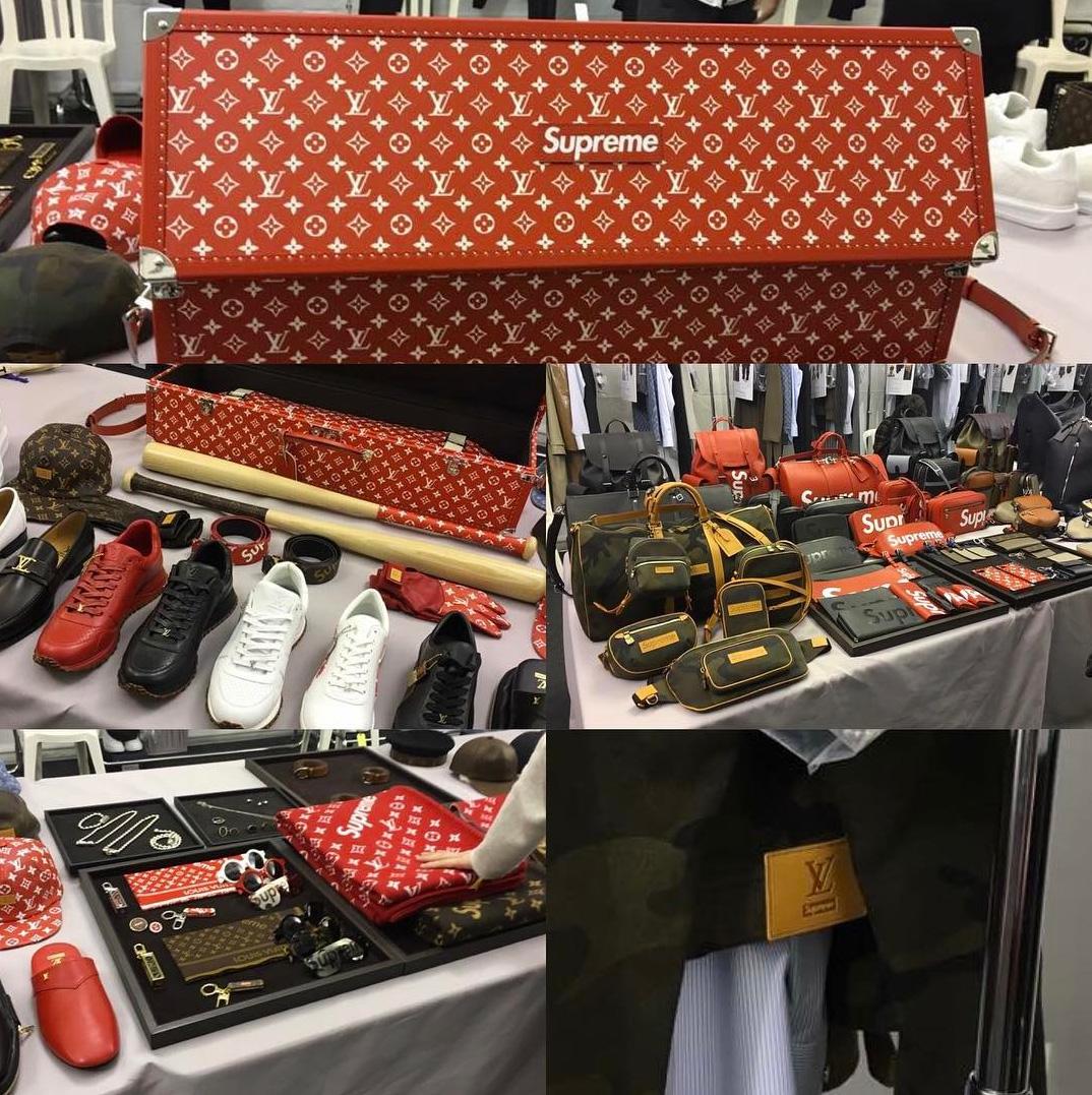 Fashion week janvier 2017 - Les Pi 232 Ces De La Collection Supreme X Louis Vuitton