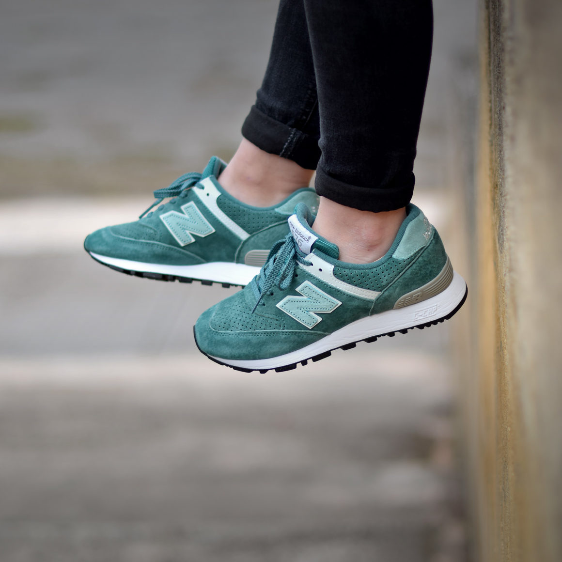 New Balance W 576 PMM Vert - Sneakers.fr