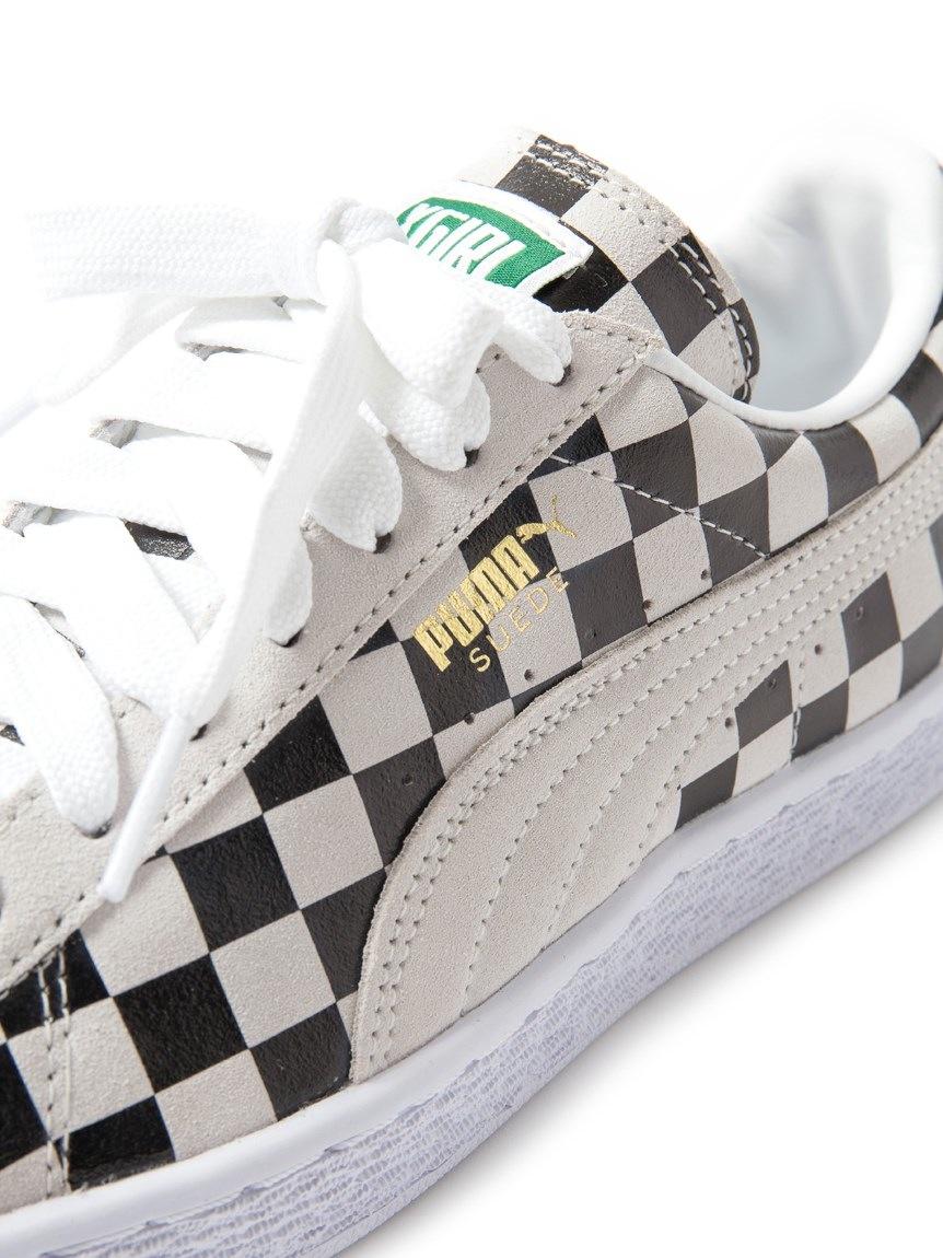 Puma Suede Checker par X Girl