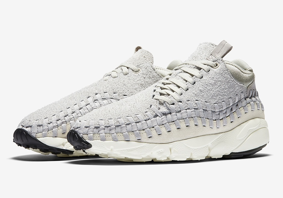 Nike Air Footscape Woven Chukka QS Light Bone