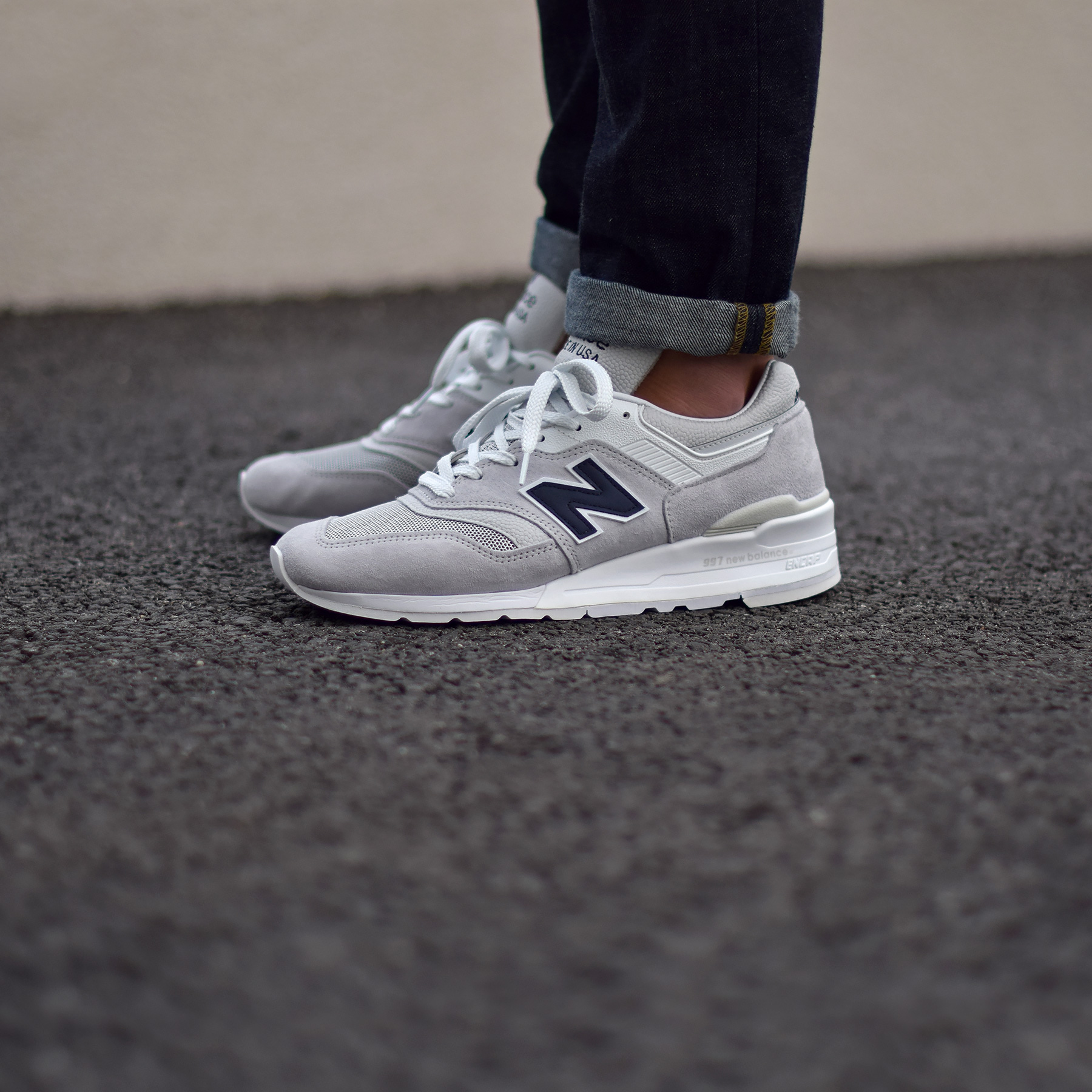 new balance homme 997 gris