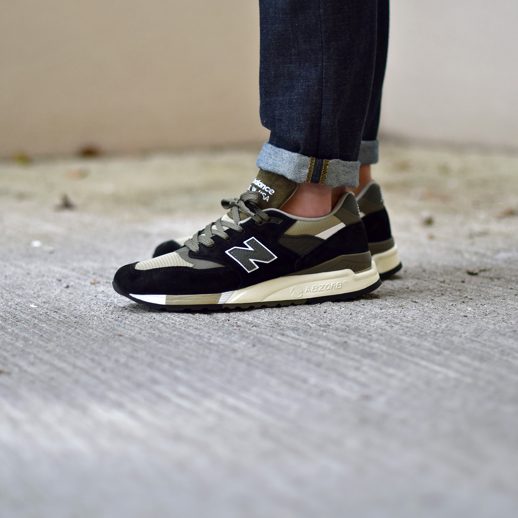 new balance 998 noir rouge