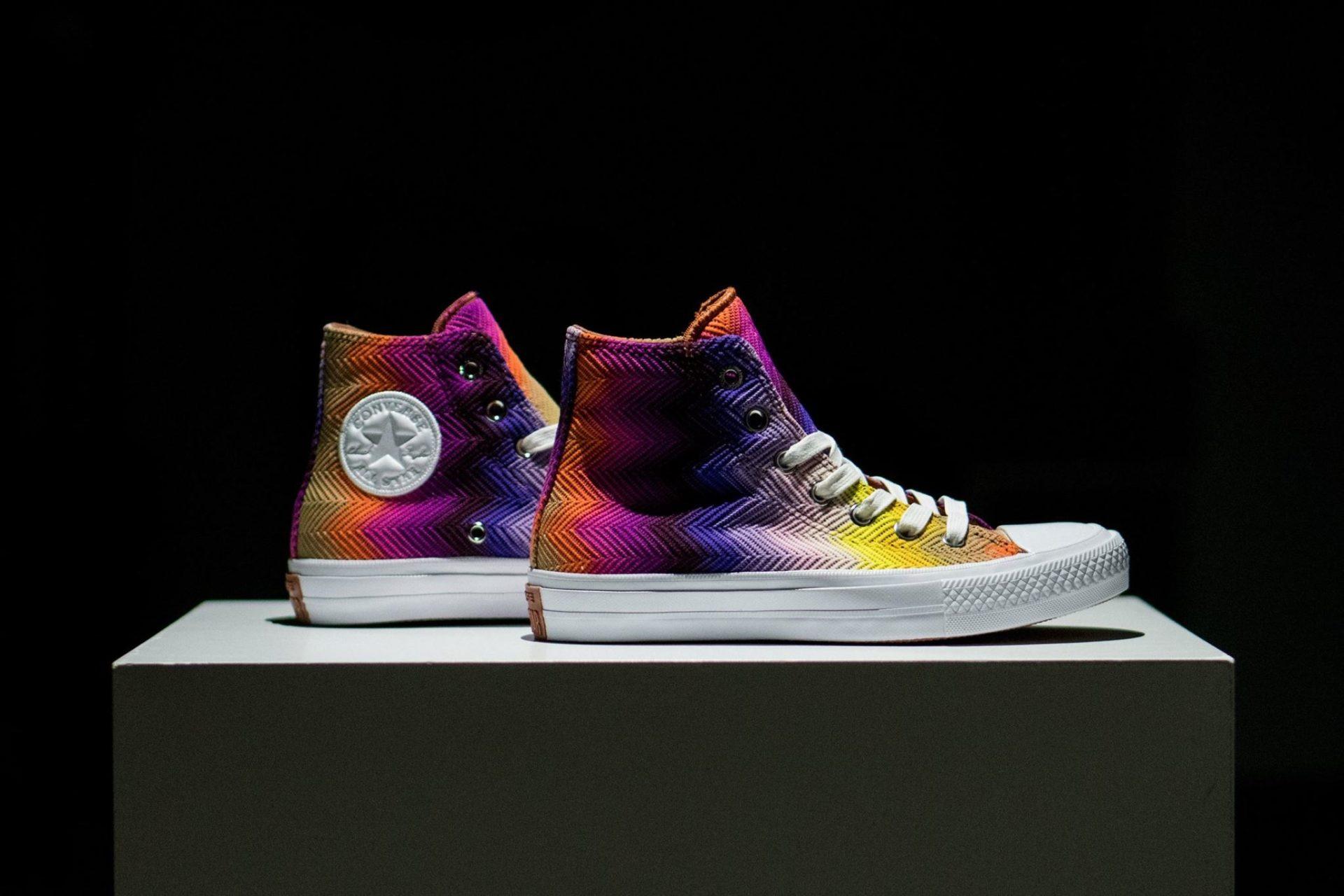 Converse Chuck Taylor All Star II « Multicolor » par Missoni