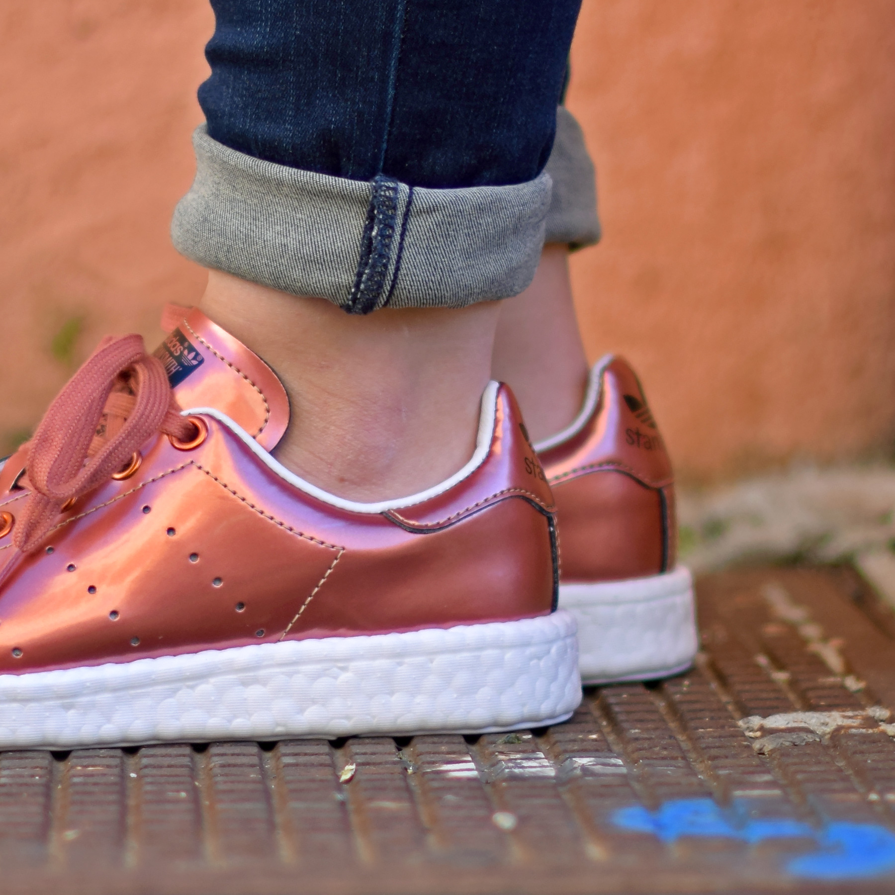 stan smith cuivre